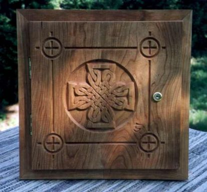 Custom Made Carved Celtic Crosses