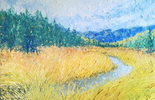 Custom Made Landscape Painting - Thick Style