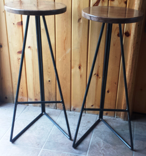 Pleasant Buy A Custom Made Industrial Metal Stool Base With Round Ibusinesslaw Wood Chair Design Ideas Ibusinesslaworg