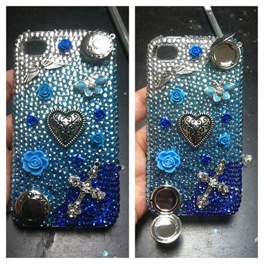 Custom Made Custom 3d Bling Cellphone Case Vintage / Locket