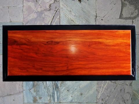"Custom Made Coffee Table - The Elements Collection - ""Fire"""
