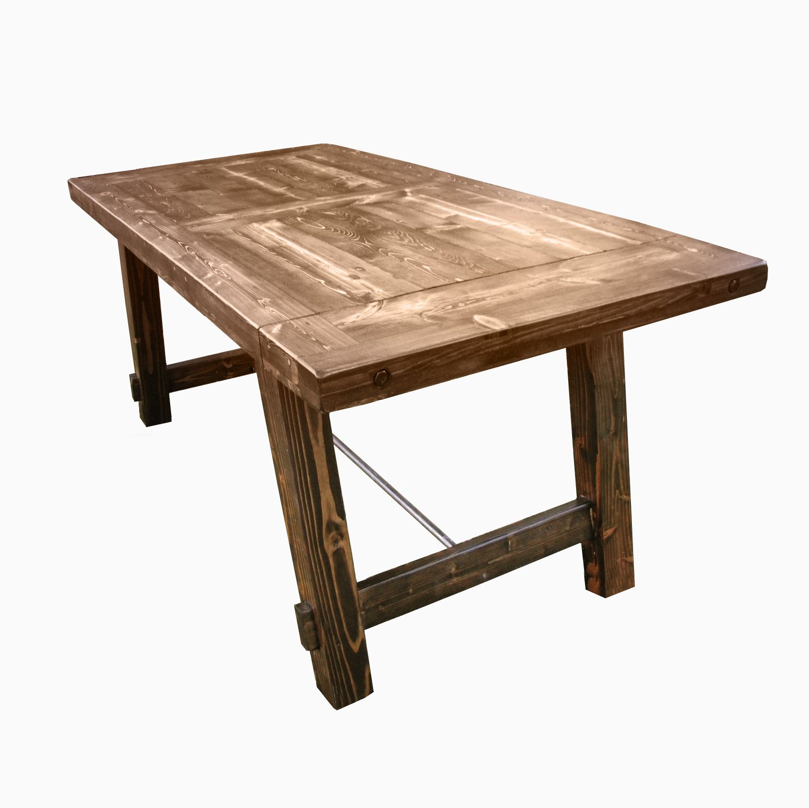 Buy a custom country harvest dining table made to order for Custom dining tables