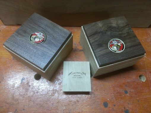 Custom Made Challenge Coin Or Trinket Box