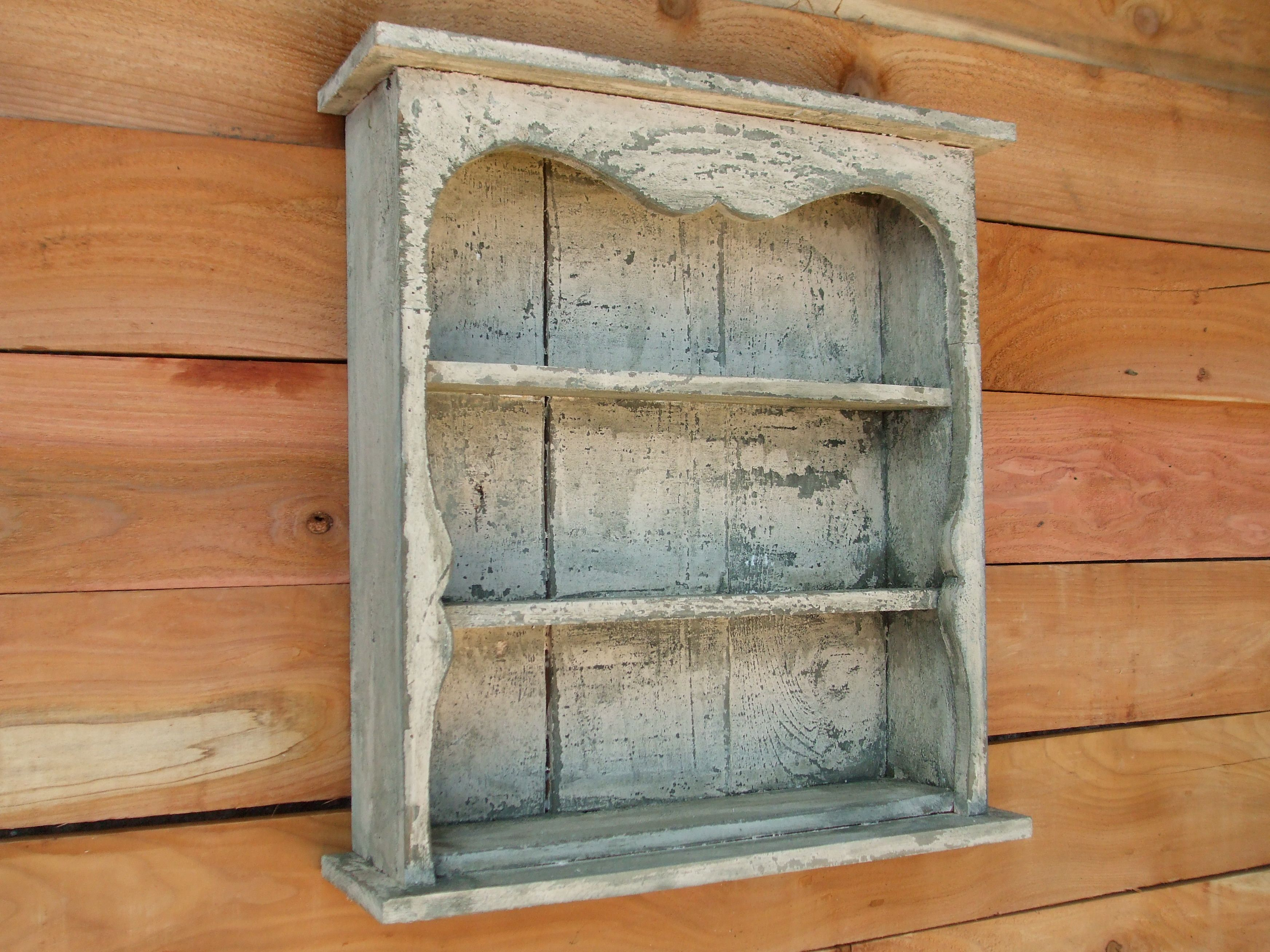 Buy a hand made shabby chic style black wall shelf distressed buy a hand made shabby chic style black wall shelf distressed book shelf french country display case made to order from farmhouse furniture tx amipublicfo Image collections