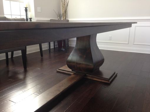 Custom Made Family Sized Dining Table