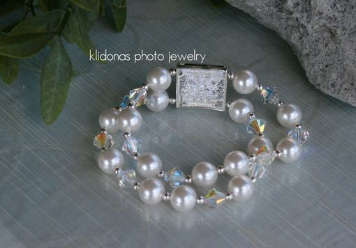 Custom Made Wedding Bracelet, Brides Bracelet, Mother Of The Bride Gift, Mother Of The Groom