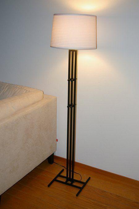 Custom Arts Amp Crafts Floor Lamp By Weldcrafts Magazine