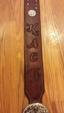 Custom Made Custom Leather Guitar Straps