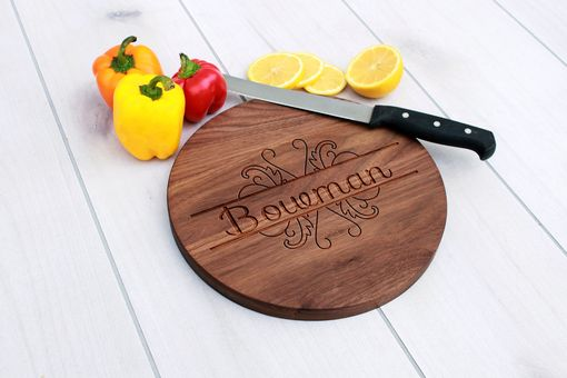 Custom Made Personalized Cutting Board, Engraved Cutting Board, Custom Wedding Gift – Cbr-Wal-Bowman