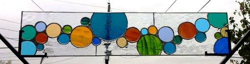 Custom Made Stained Glass Window -
