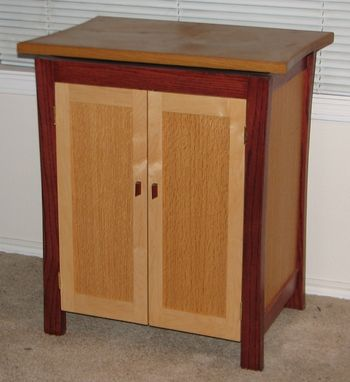 Custom Made Asian Cabinet