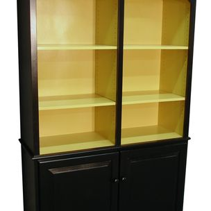 Custom Painted Bookcase By