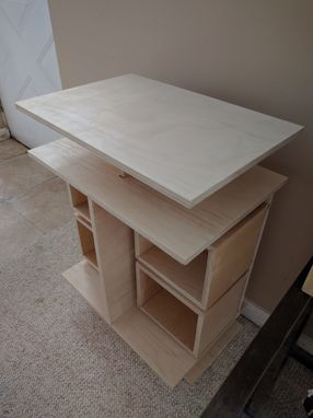 Custom Made Plywood End Table