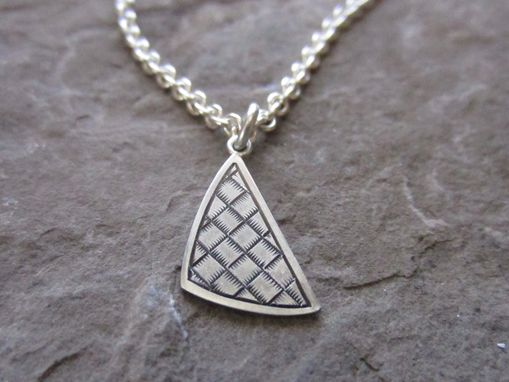 Custom Made Basket Weave Pendant #1