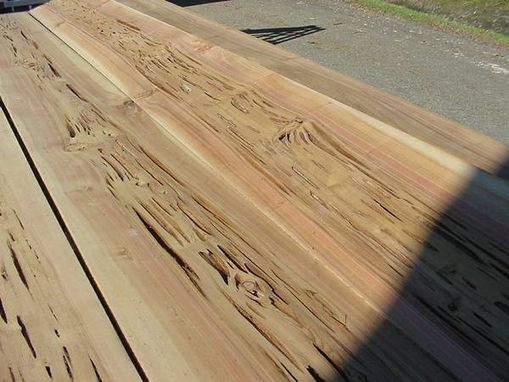 Custom Made Pecky Cypress Wide Boards 12' Long, Local Pickup