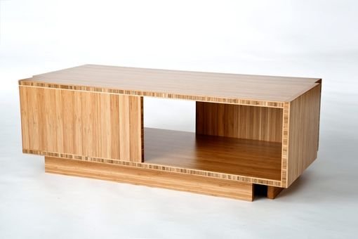 Custom Made Rs Bamboo Coffee Table/Cabinet