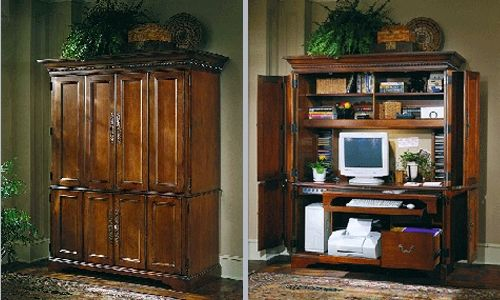 Custom Made Office Armoire