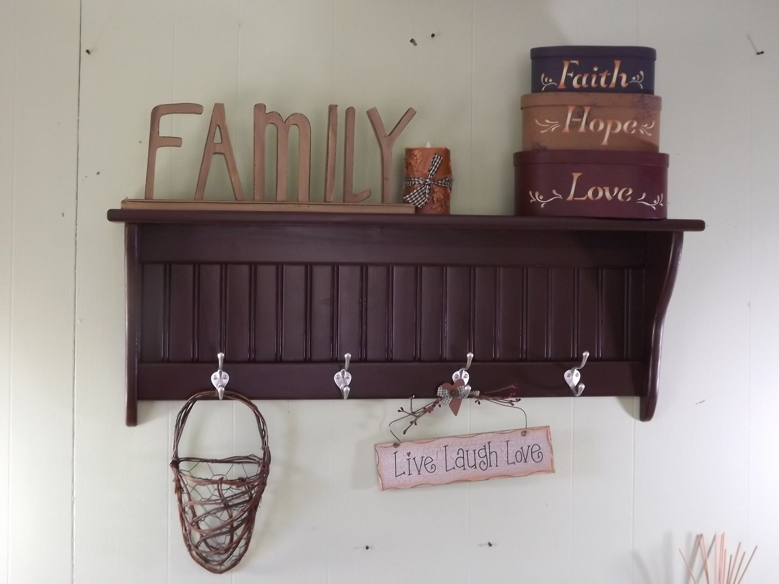 Hand Made Coat Racks And Wall Shelves By Appletree