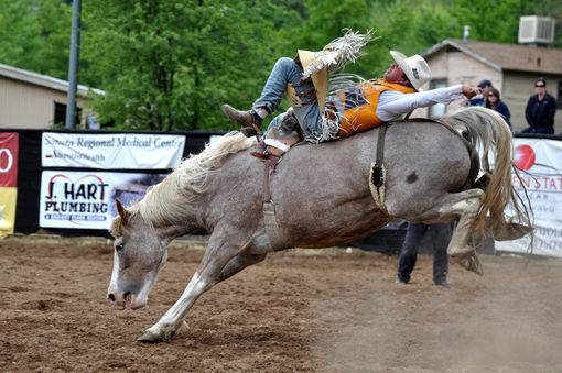 Custom Made Fine Art Photograph Of A Bronc Rider