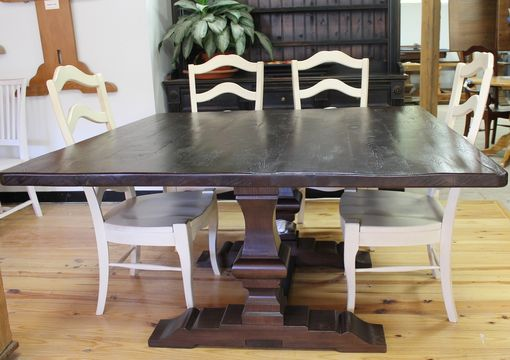 Custom Made Rustic Square Dining Table