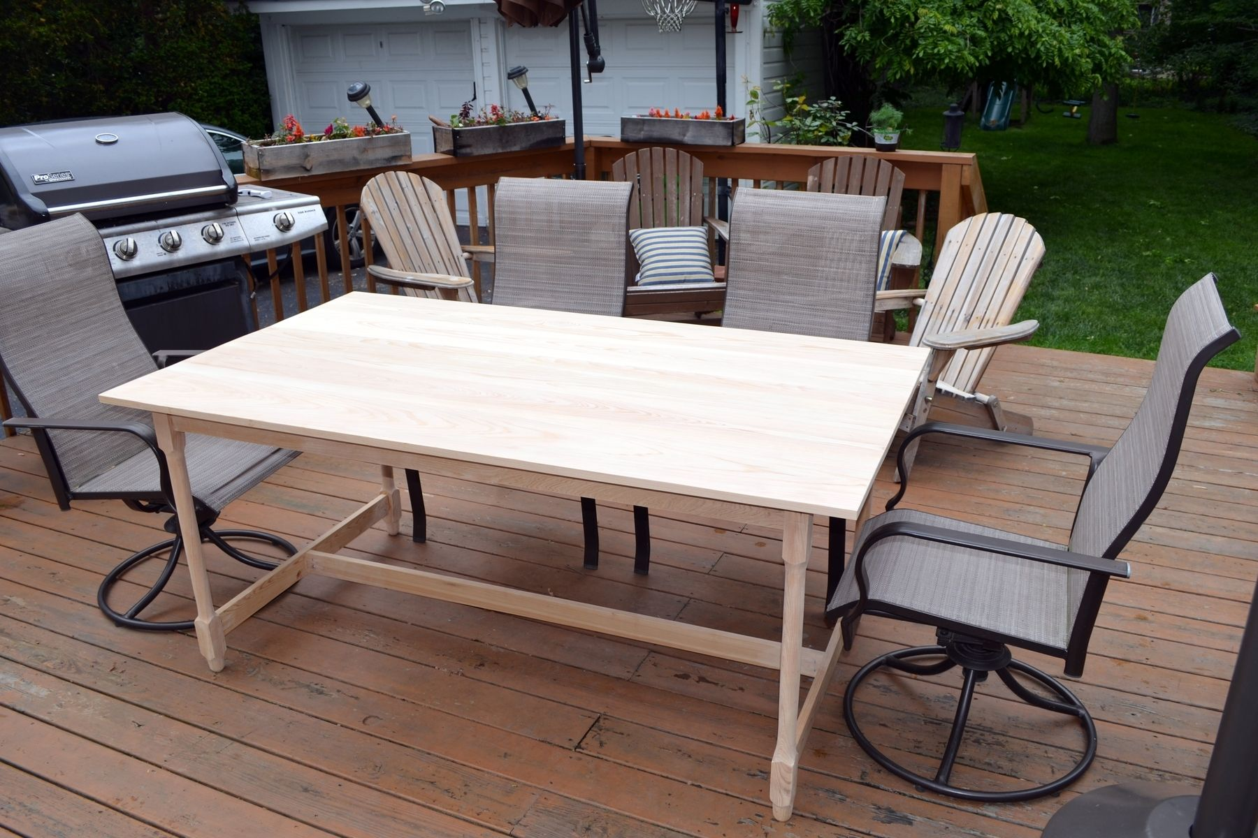 Handmade Cyprus Dining Table by Darbynwoods Fine Woodworking