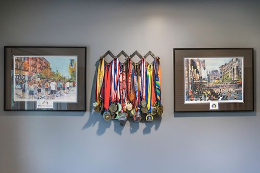 Custom Made Medal Display