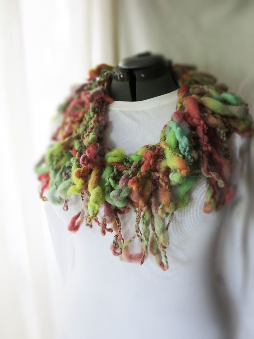 how to make a cowl neck scarf
