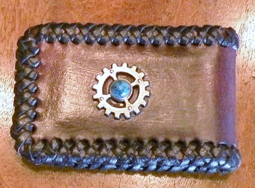Custom Made Steampunk Styled Money Clip