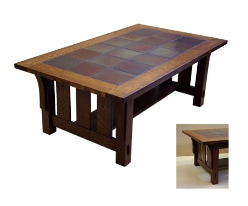 tile top coffee table | nick boynton furniture
