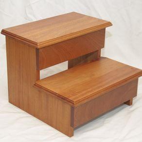 Custom Step Stools Handmade Wood Stepstools Custommadecom