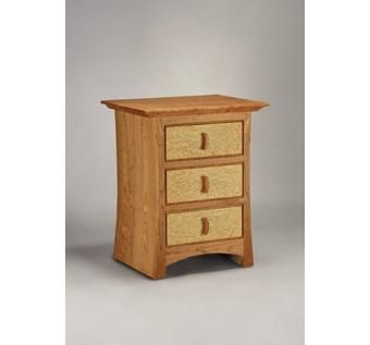 Custom Made Dora 3-Drawer Night Table #1