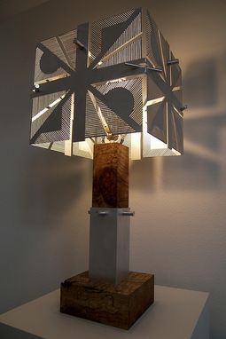 Custom Made Cds Table Lamp