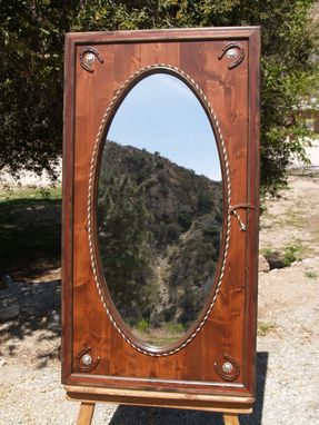 Custom Made Western Oval Mirror