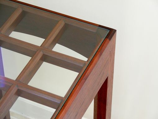 Custom Made Empress Solarium Table - Walnut