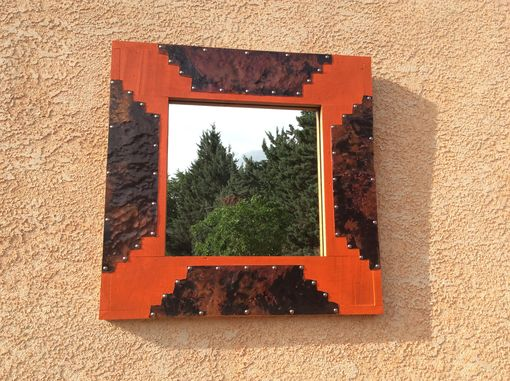 Custom Made Southwest Style Mirror