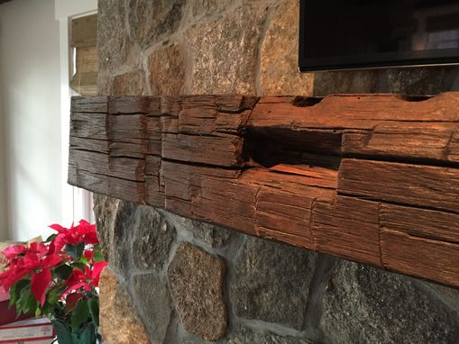 Hand Made Rustic Fireplace Mantel By M Karl Llc