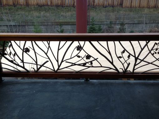 Custom Made Tree Branch Railing