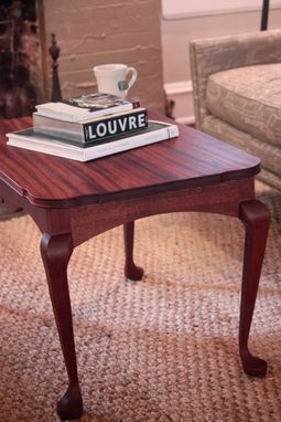 Custom Made Elegant Solid Wood Coffee Table