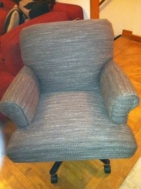 Custom Made Upholstered Office Chair
