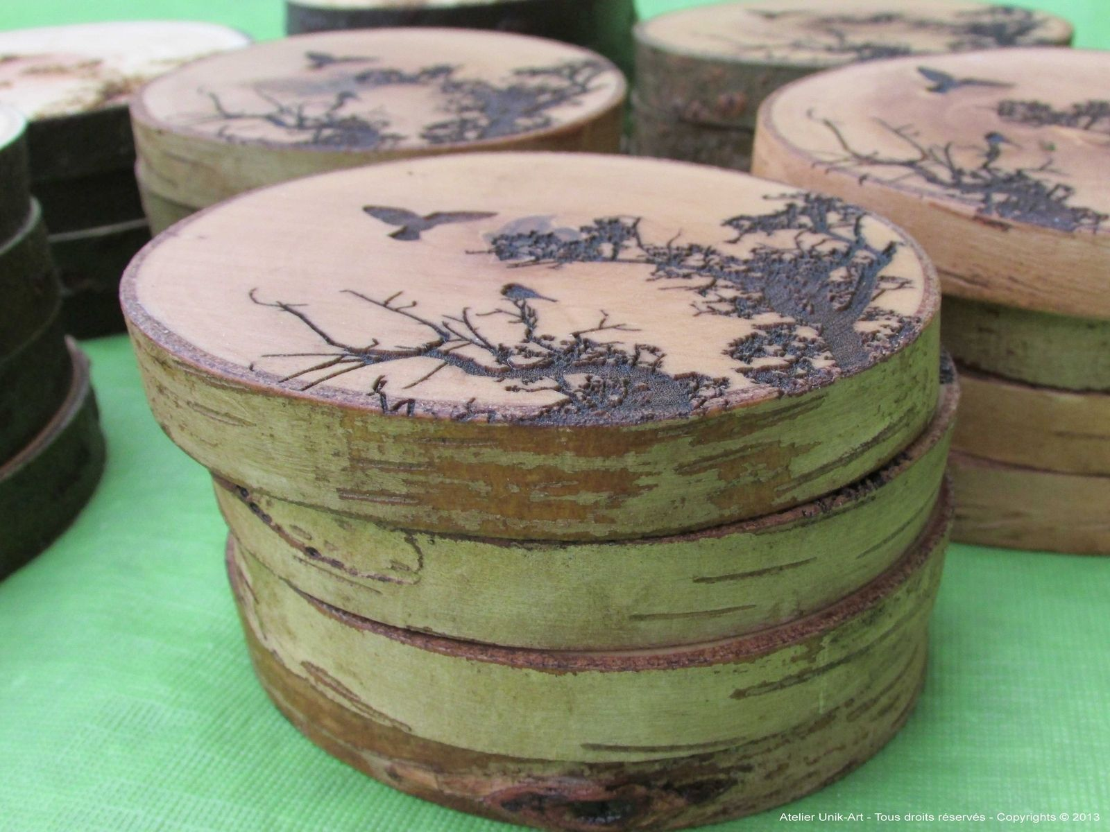 Handmade Wooden Coasters Made Out Of Salvaged Wood And Drift Wood By - Coasters made from photos