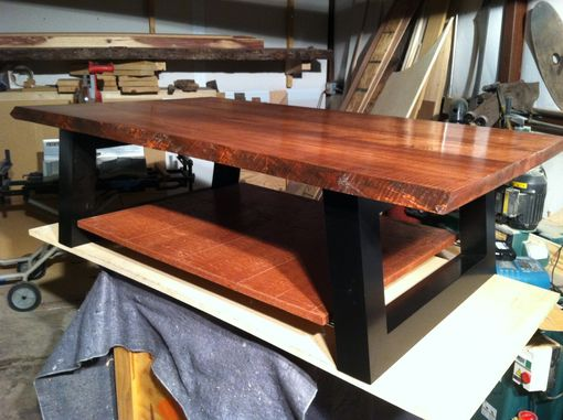 Custom Made Tiger Maple Coffee Table