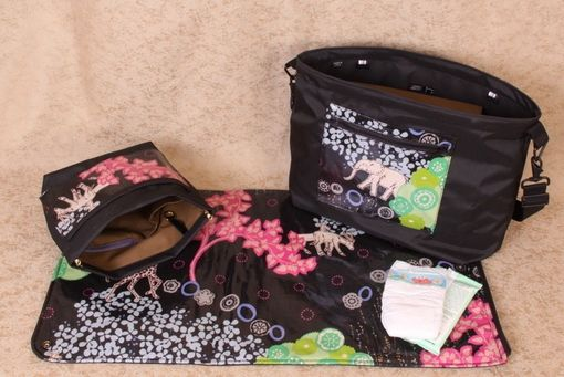 Custom Made Heddy Freddy Diaper Bag And Insert Modules Custom Production