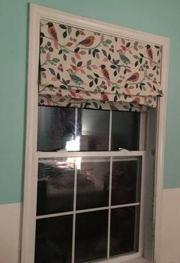 Custom Made Hand Sewn Roman Shades
