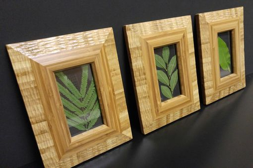 Custom Made Bamboo Picture Frames