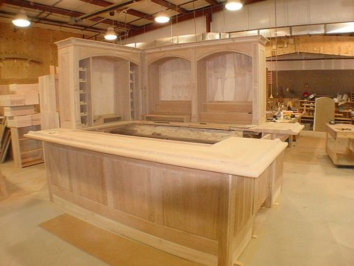 Hand Made Cherry Wood Bar By Furniture By Carlisle Llc