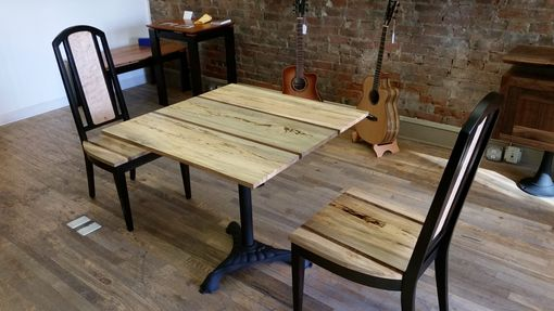 Custom Made Table's, Live Edge And Reclaimed Tops