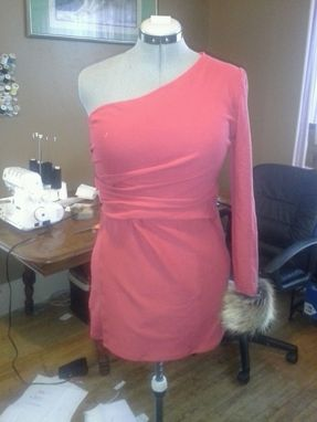 Custom Made One Shoulder Women's Top