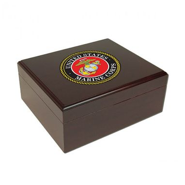 Custom Made Personalized Military Humidor