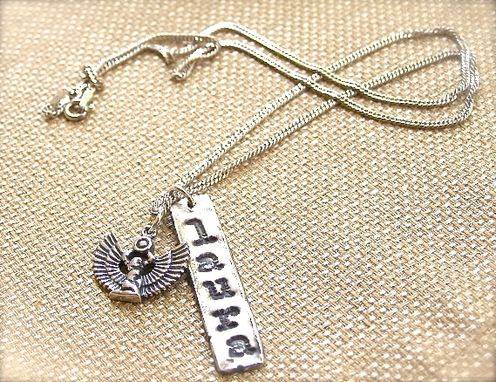 Custom Made Name Pendant, , Wedding Jewelry, Silver Pendants, Charm Necklace, Personalized Jewelr