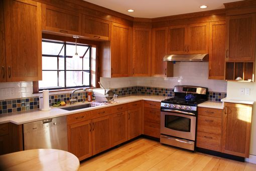Custom Made Custom Cherry  Kitchen